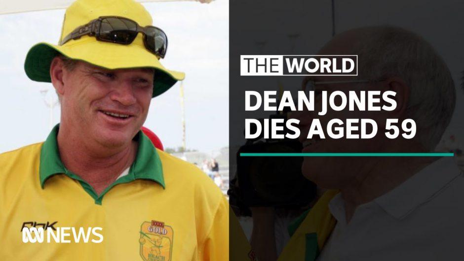 Australian cricket great Dean Jones dies in India | The World