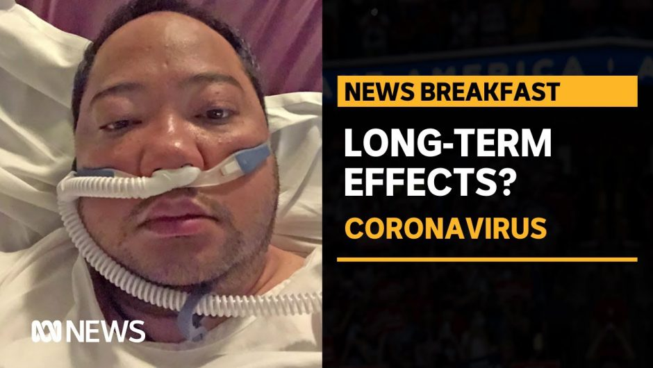 Michael Rojales contracted COVID-19 six months ago. He's still recovering | ABC News