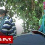 India's 'loudspeaker and motorbike schools' beat Covid fears – BBC News