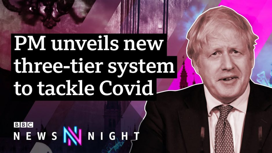 Is the three-tier Covid-19 system enough to tackle England's rising infection rate? – BBC Newsnight