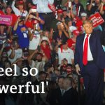 Trump boasts of COVID immunity at first rally since diagnosis | DW News
