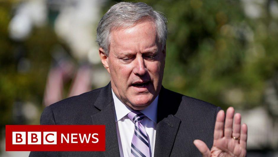 Trump experiencing 'mild symptoms' – BBC News