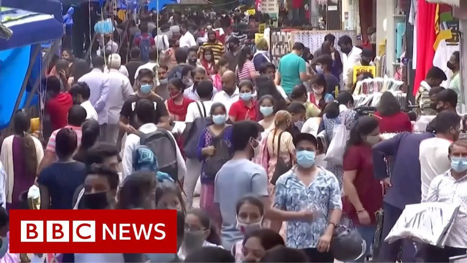 Covid: India's coronavirus outbreak in 200 seconds – BBC News