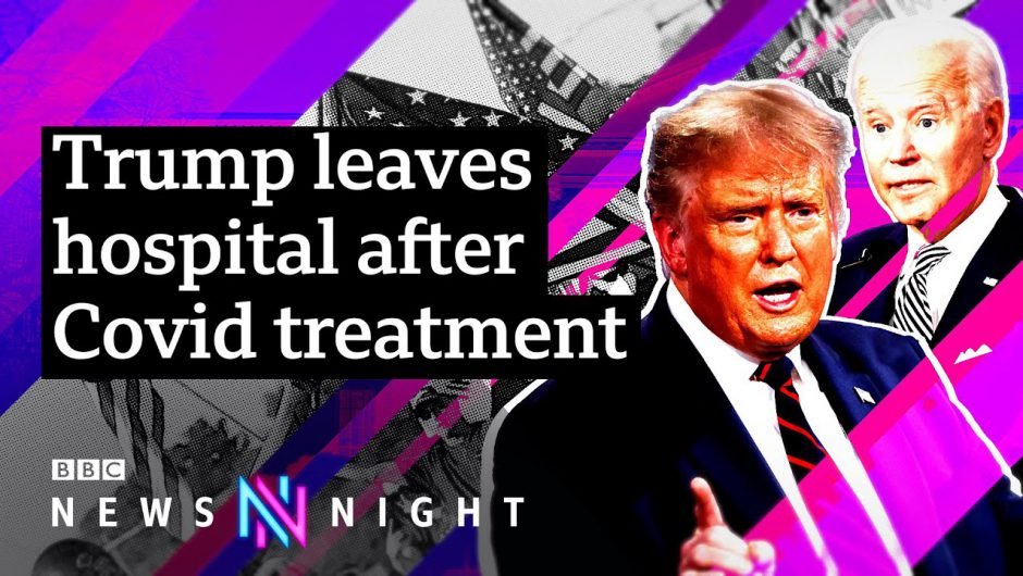 US Election 2020: How will President Trump's hospitalisation affect the race? – BBC Newsnight