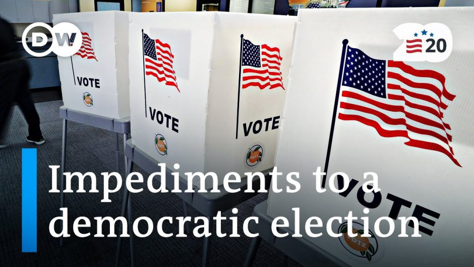 Is voter suppression happening in the 2020 US election? | DW News