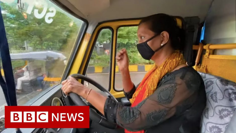 The woman who ferries patients in a school bus – BBC News