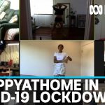 Coronavirus isolation prompts #happyathome digital movement as spirits soar online | ABC News