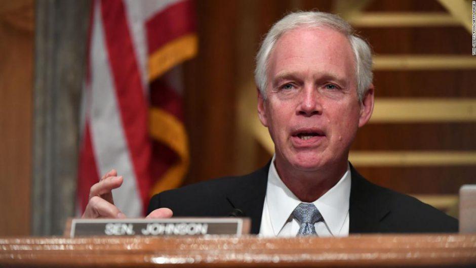 Ron Johnson: Senate GOP's third positive Covid-19 case threatens quick Barrett confirmation