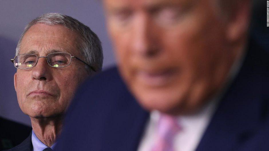 Trump trashes Fauci and makes baseless coronavirus claims in campaign call