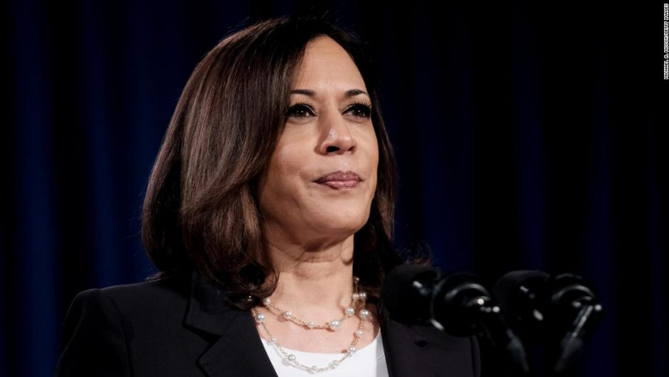 Kamala Harris: Biden campaign halts running mate's travel after two people in campaign's orbit test positive for coronavirus