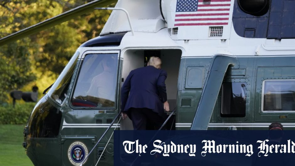 Trump transferred to hospital after COVID-19 diagnosis