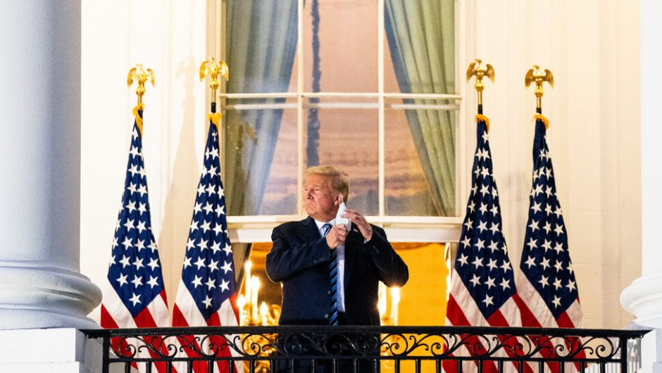 Trump Covid-19 Live Updates – The New York Times