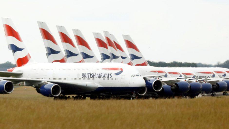 Coronavirus: British Airways owner IAG downgrades outlook as pandemic hits demand | Business News