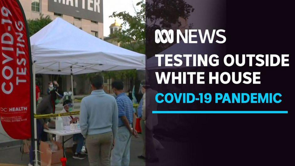 COVID-19 testing centre outside White House not a stunt, says DC Senate rep | ABC News