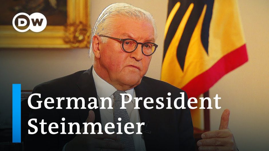 German President Steinmeier: 'This is a test for our democracy' | DW Interview
