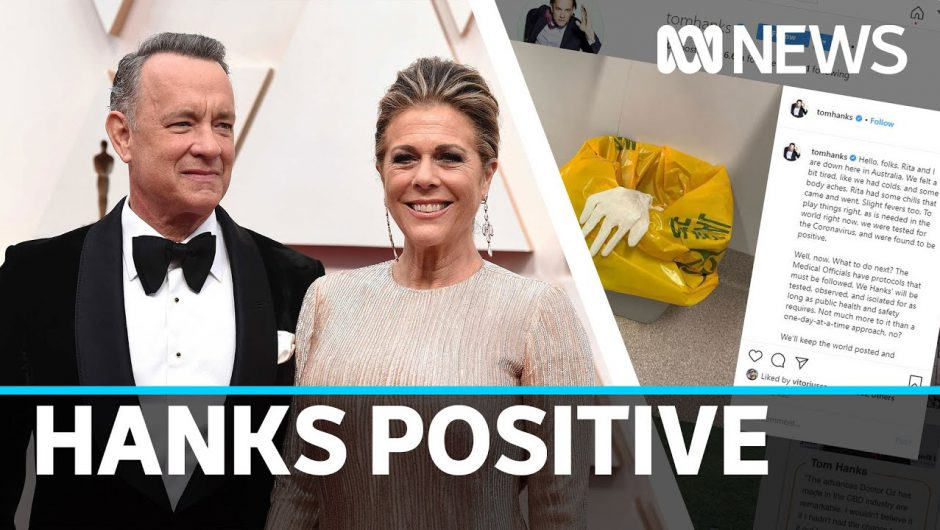 Tom Hanks and Rita Wilson test positive for coronavirus on the Gold Coast | ABC News