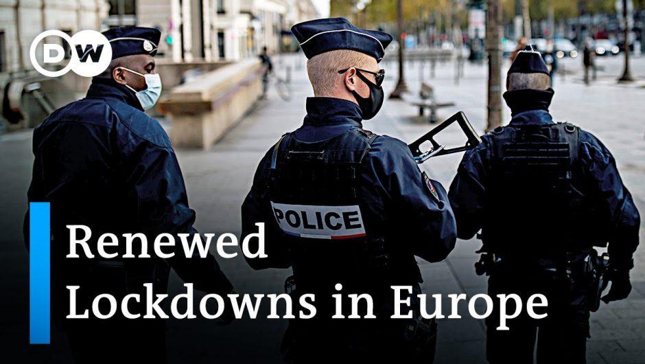 European countries renew lockdowns as COVID cases keep surging | Coronavirus Update