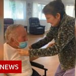 Elderly couple, married for 60 years, reunited after 215 days apart – BBC News