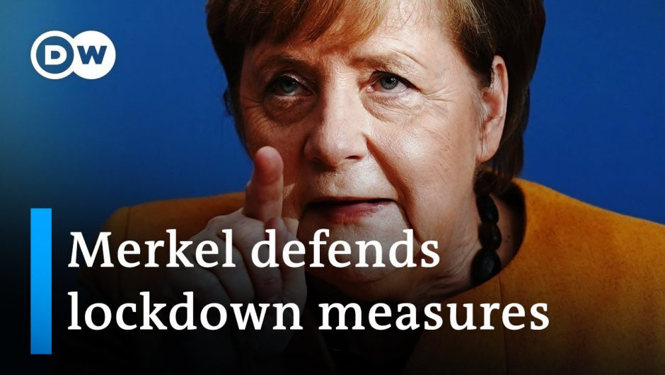 """I don't want us to have to sacrifice human life"" Angela Merkel press conference on renewed lockdown"
