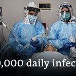 US breaks 24-hours coronavirus record | DW News