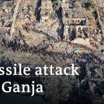 Azerbaijan vows revenge against Armenia for attack on Ganja | DW News