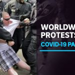 Worldwide protesters, tired of coronavirus lockdowns, take to the streets | ABC News