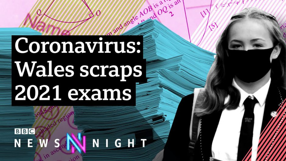 Coronavirus: Will school exams be cancelled around the UK in 2021? – BBC Newsnight