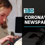 10-year-old starts her own newspaper about coronavirus | 7.30
