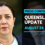 Coronavirus update Queensland, 24 August: 1 new case, Brisbane a 'restricted area' | ABC News