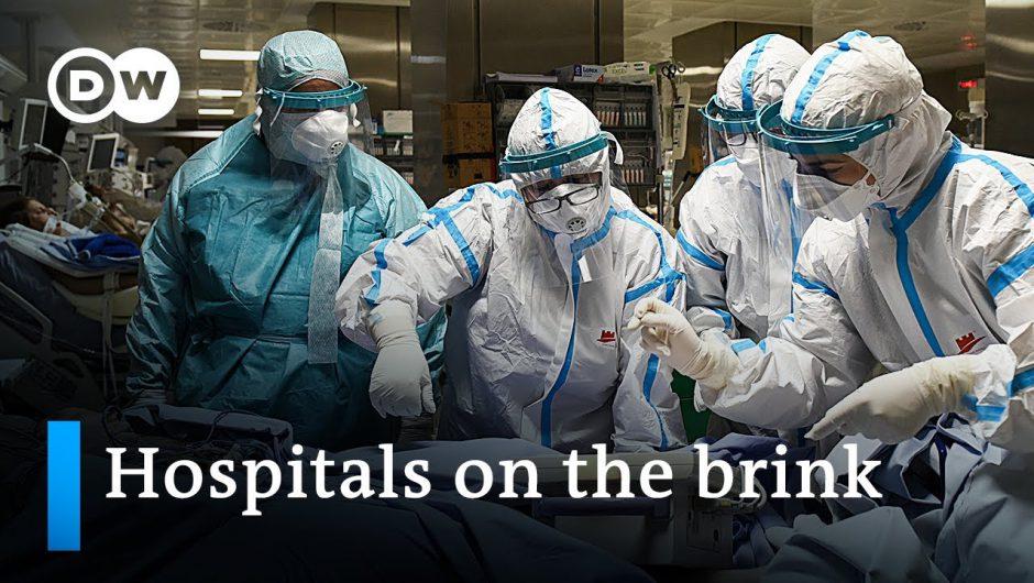 Coronavirus in Europe: Intensive care units under strain | DW News