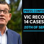#LIVE: Victoria records 14 new infections and 5 further COVID-19 deaths | ABC News