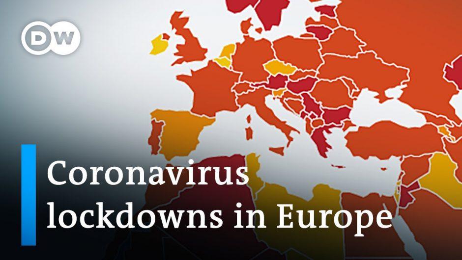 Coronavirus Update: Europe struggles lowering infection numbers | DW News