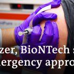 Pfizer, BioNTech seek emergency approval for coronavirus vaccine | DW News