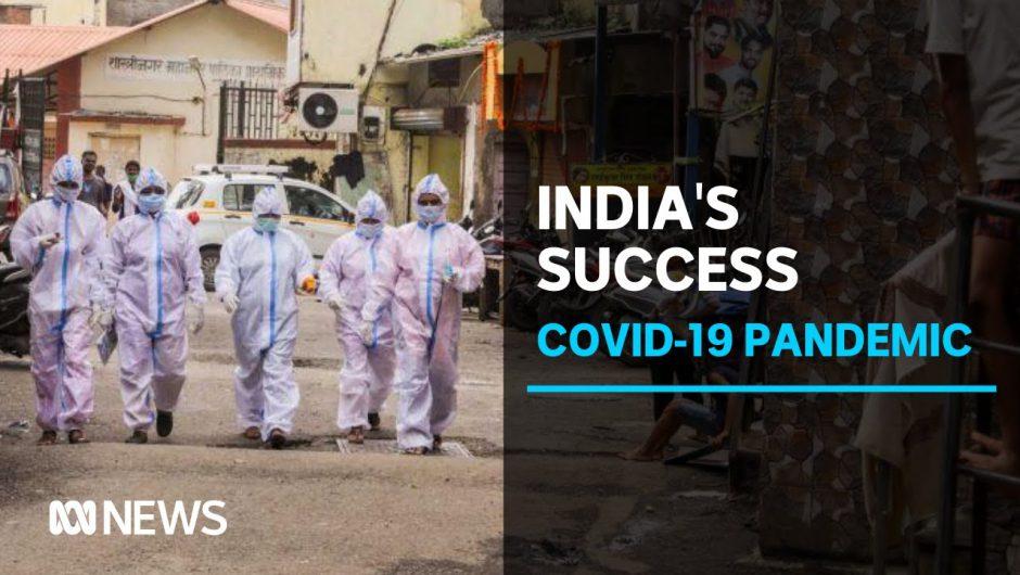 India's biggest slum has so far nailed coronavirus. Here's how they did it | ABC News