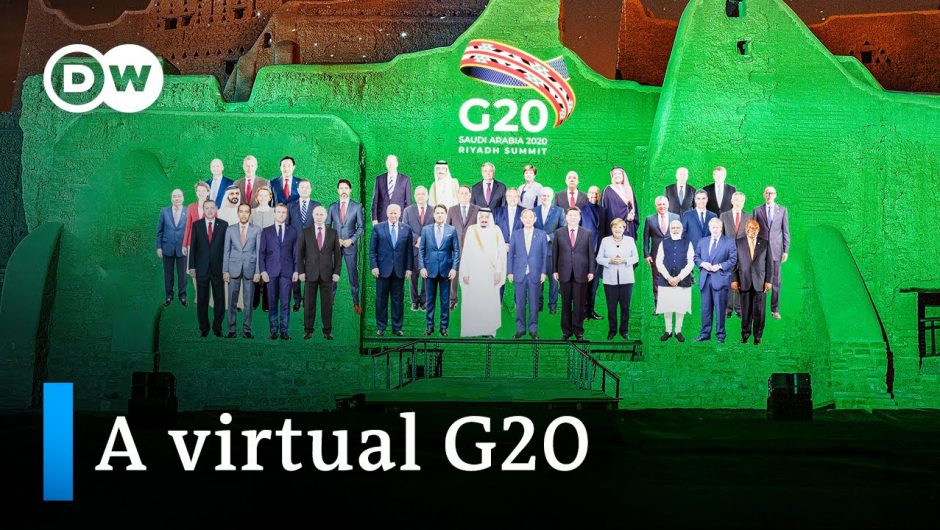 G20 2020: Coronavirus pandemic dominates Riyadh summit   DW News
