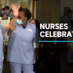 Nurses at Ashfield Baptist Homes celebrate after coronavirus recovery | ABC News