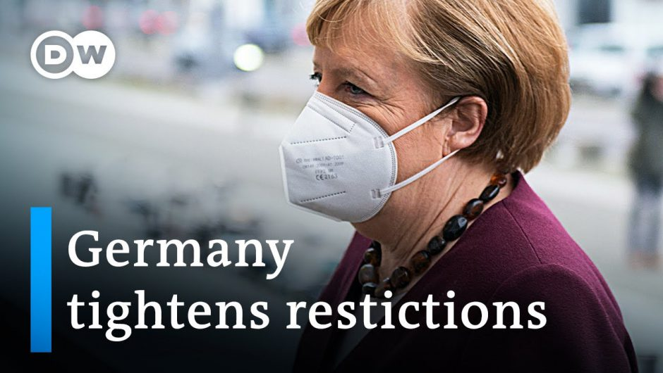 Germany announces stricter measures to curb coronavirus infections   DW news