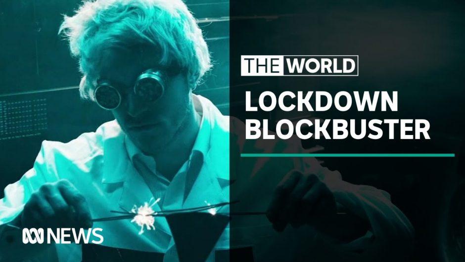 Coronavirus: Superhero film made in lockdown  | The World