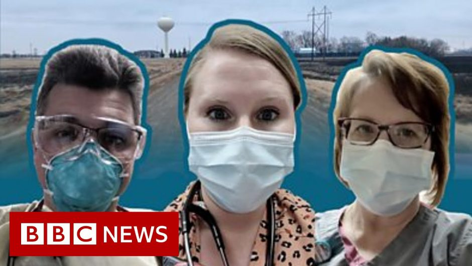 Covid in North Dakota: One day inside a rural US hospital's fight – BBC News