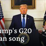 Trump slams Paris Climate Accord in his last G20 appearance | G20 Riyadh