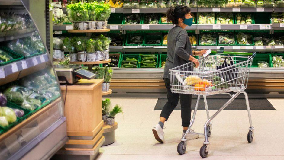 COVID-19: Supermarkets most common exposure setting for coronavirus in England, latest data suggests | UK News