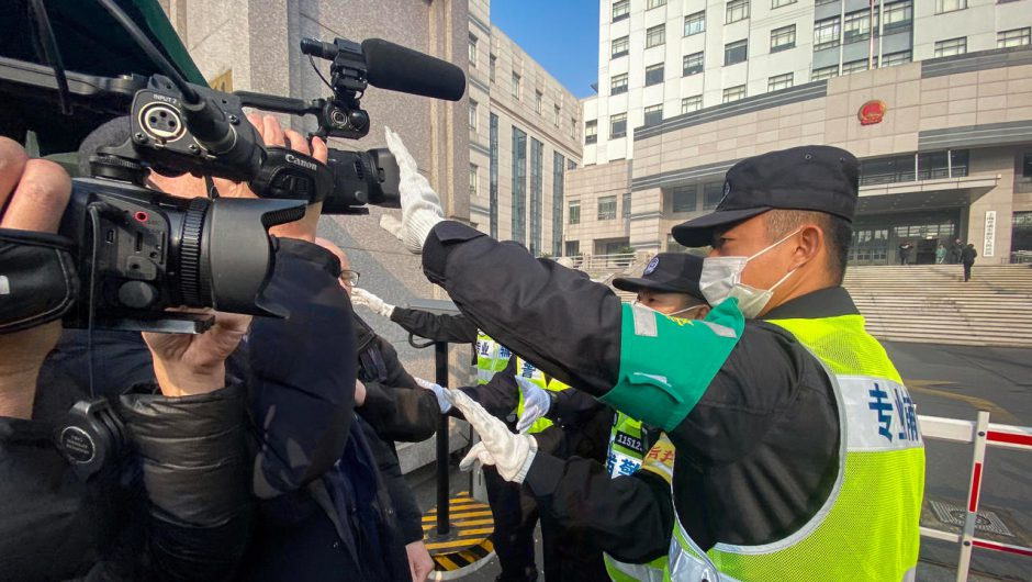 'Citizen journalist' sentenced to four years for reporting on coronavirus outbreak from Wuhan