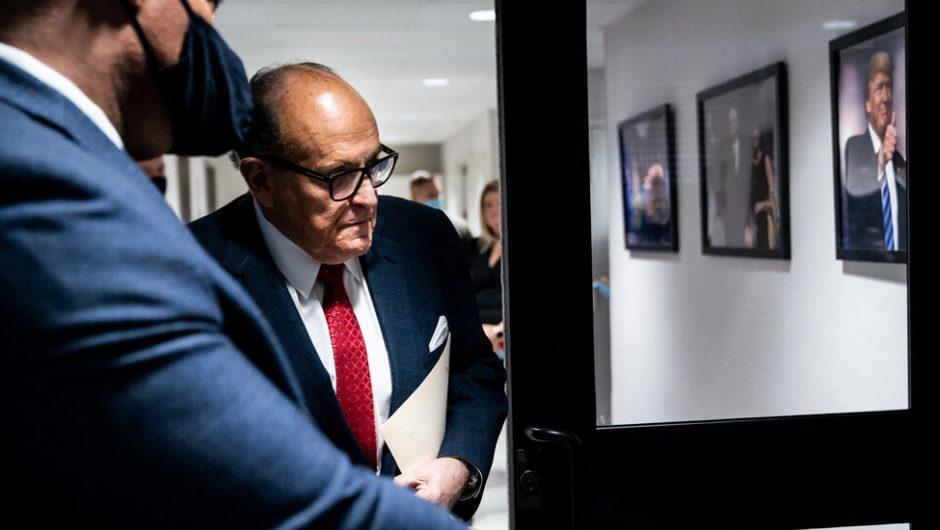 Covid-19: Giuliani Tests Positive for Coronavirus
