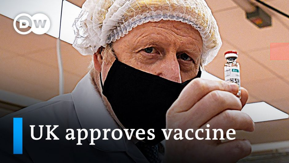 UK becomes first nation to approve BioNTech-Pfizer coronavirus vaccine   DW News