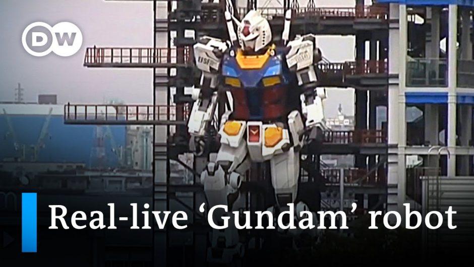 Japanese company reveals 18 meter tall 'Gundam' robot