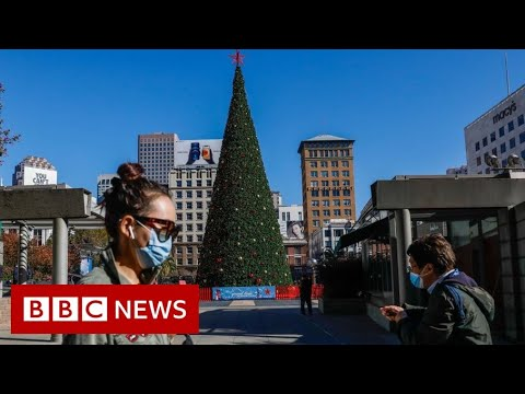 Most of California under strict new Covid lockdown – BBC News