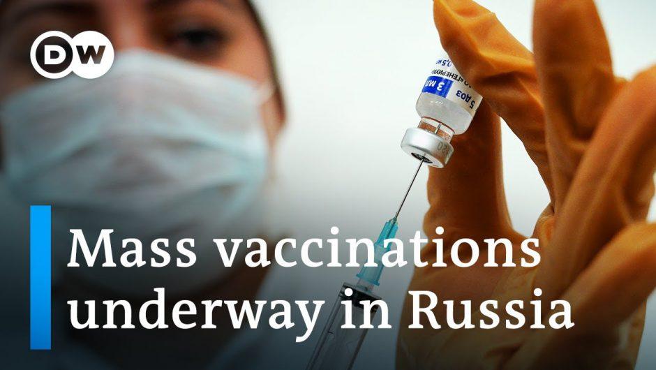 Russia kicks off mass COVID-19 vaccination program with Sputnik V | DW News