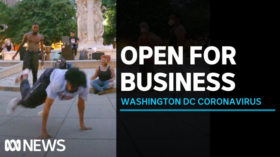Washington DC makes most of Summer despite surging coronavirus cases in southern states | ABC News