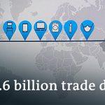 US-China trade deficit skyrockets | DW News