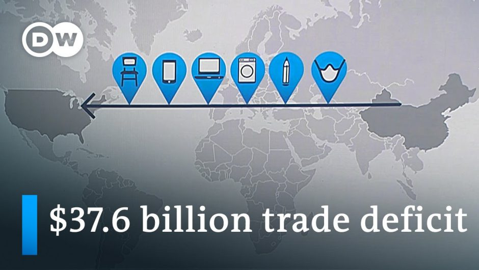 US-China trade deficit skyrockets | DW News